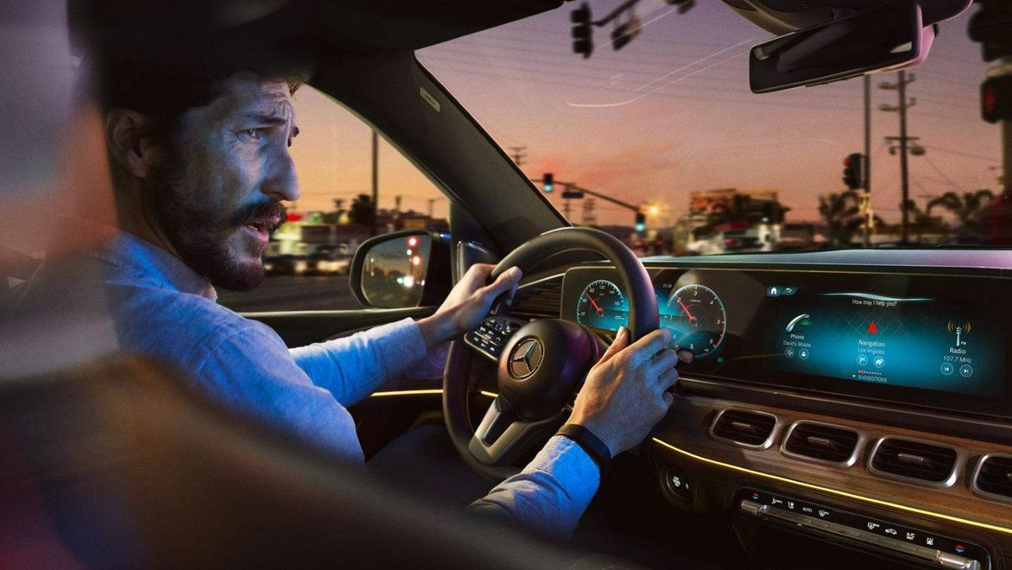 Mercedes-Benz GLE-Class 2020 Interior 002