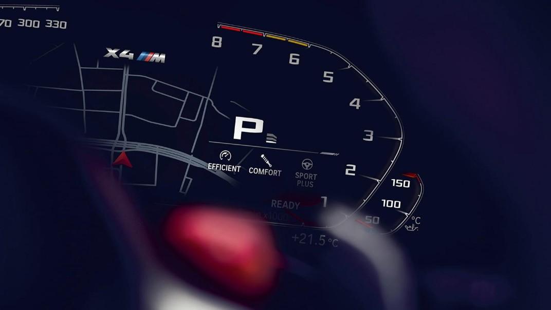 BMW X4-M Public 2020 Interior 007
