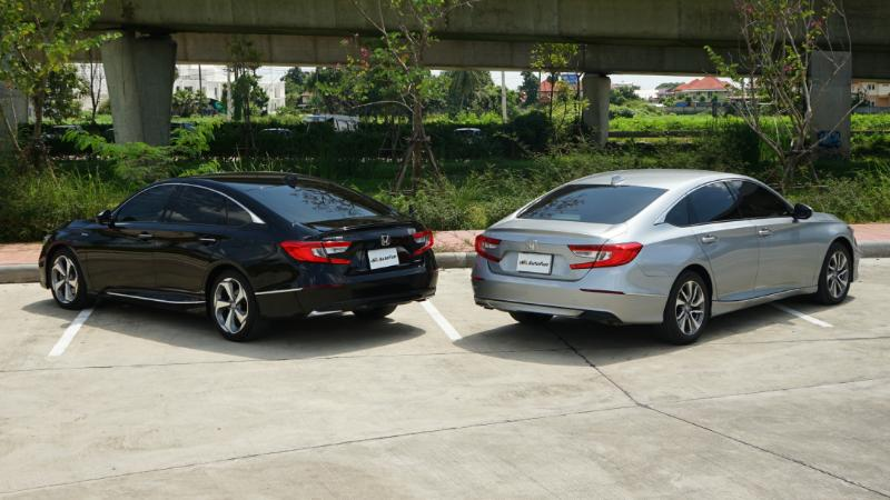 Full review: Honda Accord ลองขับทั้งไฮบริดและเทอร์โบ ราคารถต่างกัน 3 แสนกว่า น่าเพิ่มเงินหรือไม่ ? 02