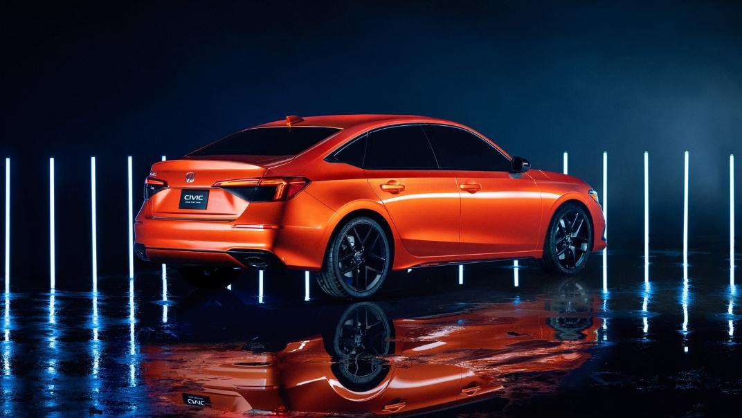 2021 Honda Civic International Version Exterior 015