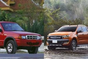 ประวัติความแหวกใน Ford Ranger รวม 8 สิ่งเป็นครั้งแรกในไทย ที่คู่แข่งยังทำตาม