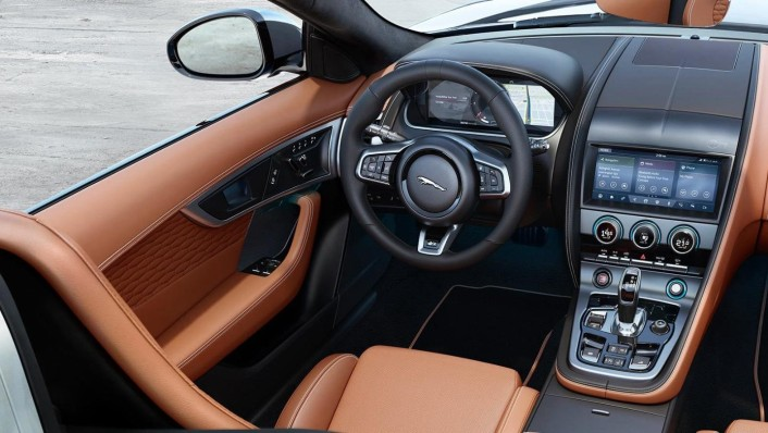 Jaguar F-Type 2020 Interior 003