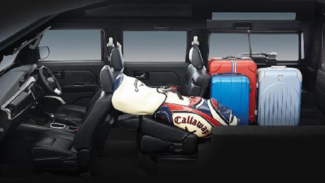 Thairung TR Transformer II 5 Seater 2020 Interior 004