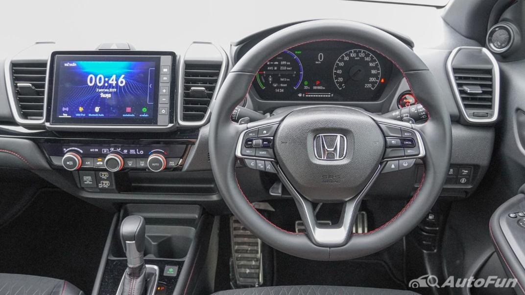 2021 Honda City e:HEV RS Interior 002