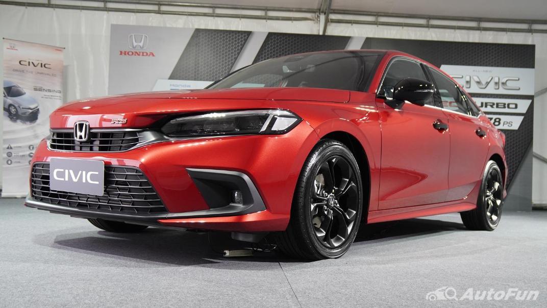 2022 Honda Civic RS Exterior 057
