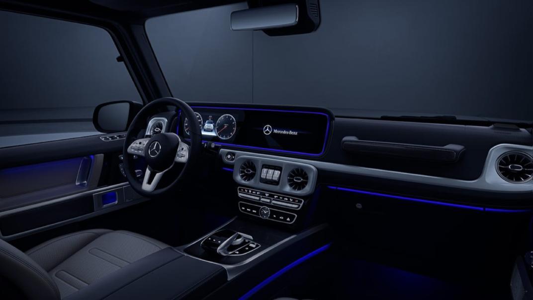 Mercedes-Benz G-Class 2020 Interior 022