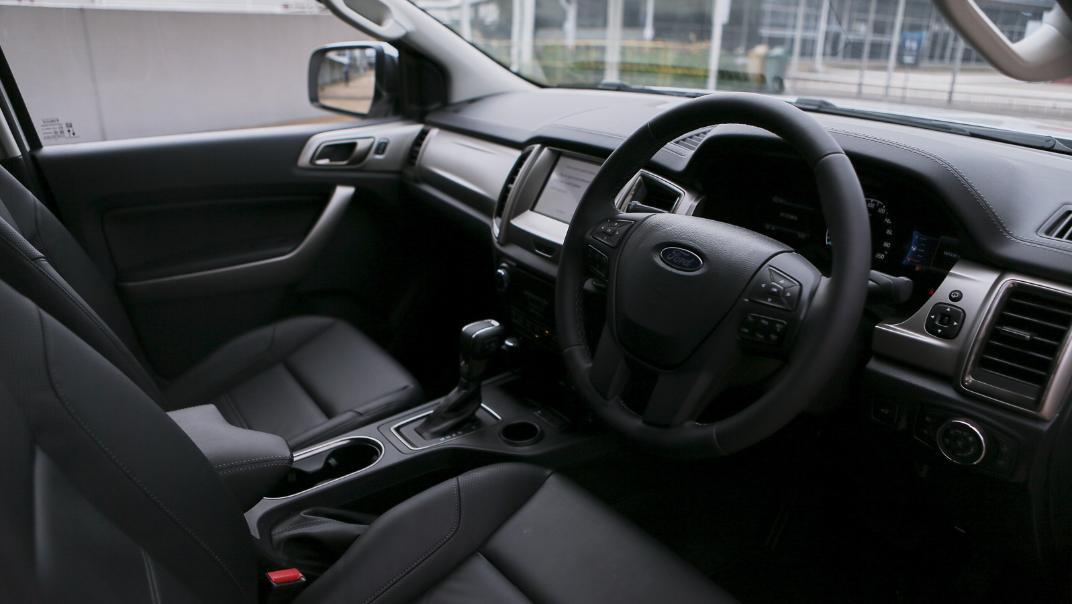 2021 Ford Everest Titanium Interior 001