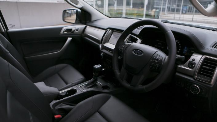 2021 Ford Everest Titanium Interior 001