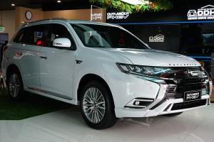 มิตซูบิชิยันเตรียมความพร้อมขาย Mitsubishi Outlander PHEV ธันวาคมนี้