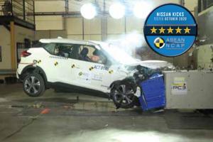 2020 Nissan Kicks คว้าความปลอดภัย 5 ดาว แต่ยังด้อยกว่า 2020 Toyota Corolla Cross?