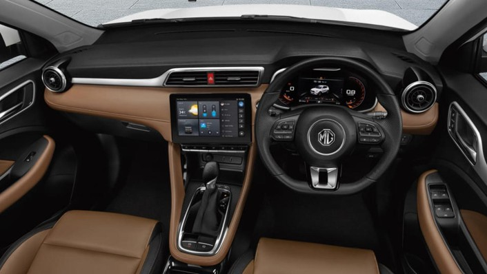 MG ZS Public 2020 Interior 001