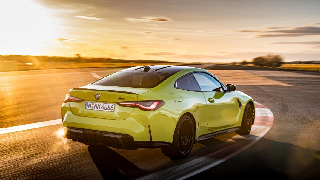 2021 BMW M4 Coupe Competition Exterior 021