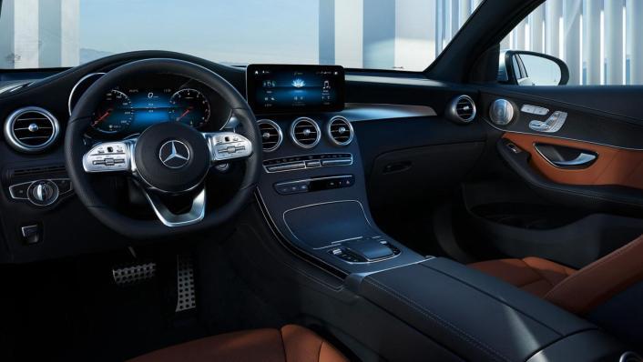Mercedes-Benz GLC-Class Coupe 2020 Interior 002