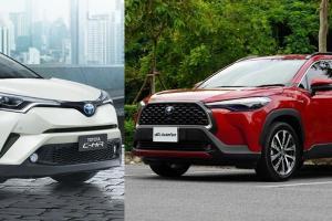 เหตุผลที่ควรเลิกขาย Toyota C-HR หมดประโยชน์เมื่อ Corolla Cross เข้ามาแทนแล้ว
