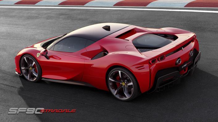 2020 4.0 Ferrari SF90 Stradale V8 Exterior 006