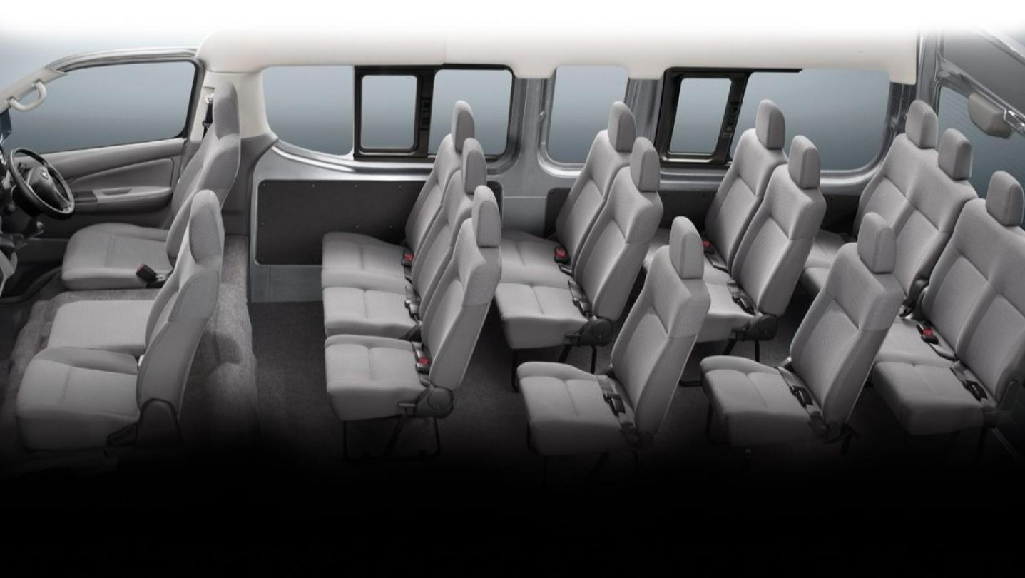 Nissan Urvan Public 2020 Interior 007