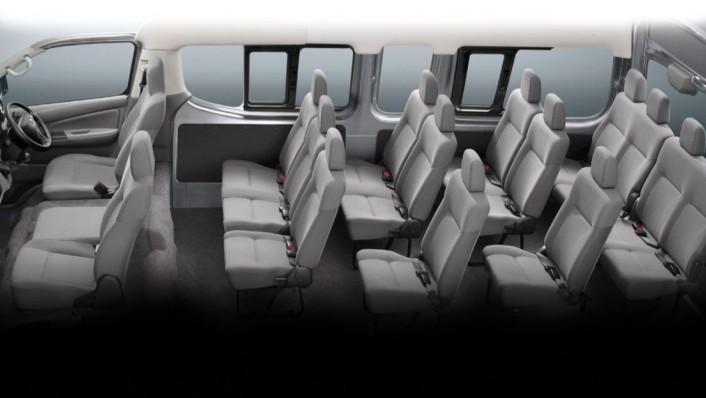 Nissan Urvan 2020 Interior 007