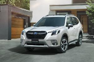 2022 Subaru Forester โฉมไมเนอร์เชนจ์ เตรียมขายไทยปีหน้า ด้วยหน้าจริงอย่างนี้ จะรับได้ไหม ?