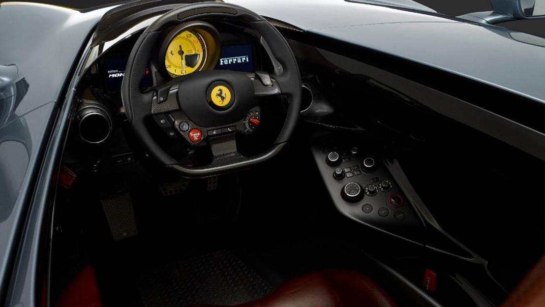 2020 Ferrari Monza SP1 V12 Interior 001
