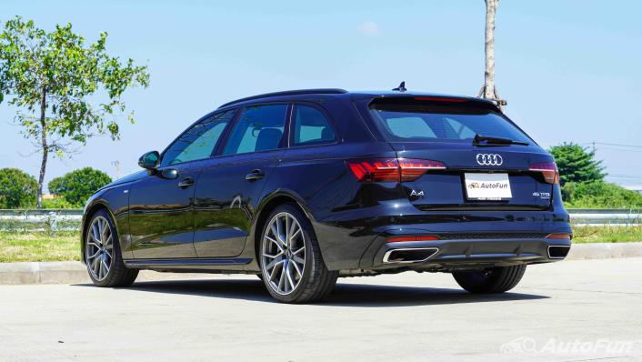 2020 Audi A4 Avant 2.0 45 TFSI Quattro S Line Black Edition Exterior 007