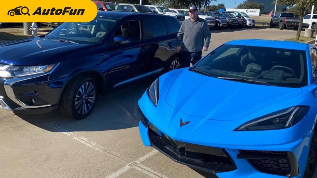 โมเดลเก่าแล้วจะทำไม? ชายคนหนึ่งเอา Corvette C8 มาเทิร์นเป็น Mitsubishi Outlander 01