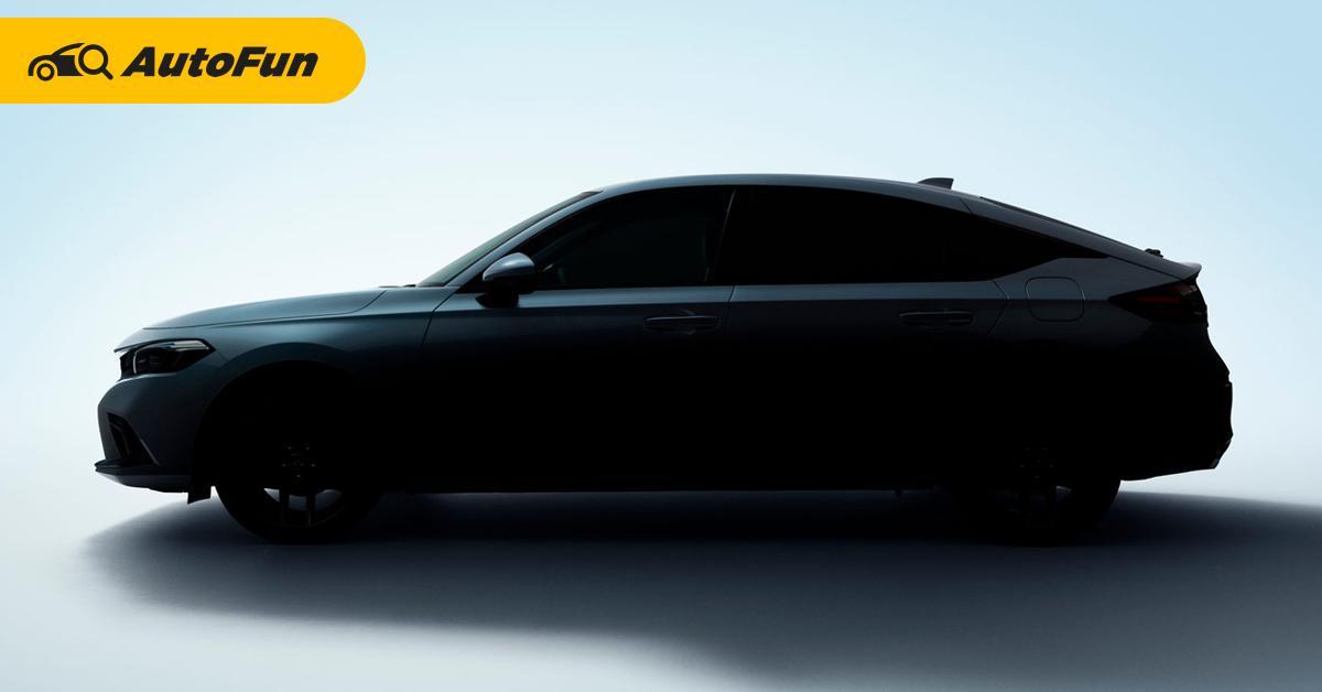 เผยภาพแรก 2022 Honda Civic Hatchback มาพร้อมเกียร์ธรรมดา เปิดตัว 23 มิถุนายนนี้ 01