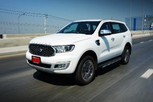 Review : Ford Everest 4x4 Titanium+ ราคาเดิม ดีขึ้นทุกด้าน แต่เจอคู่แข่งแล้วยังสู้ไหวไหมนะ