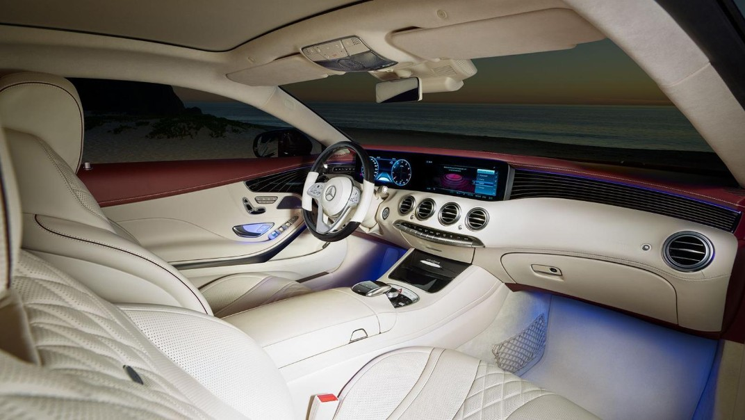 Mercedes-Benz S-Class Coupe 2020 Interior 001