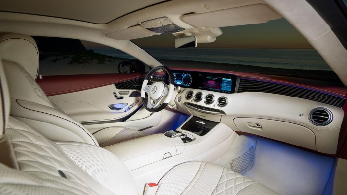 Mercedes-Benz S-Class Coupe 2020 Interior 001