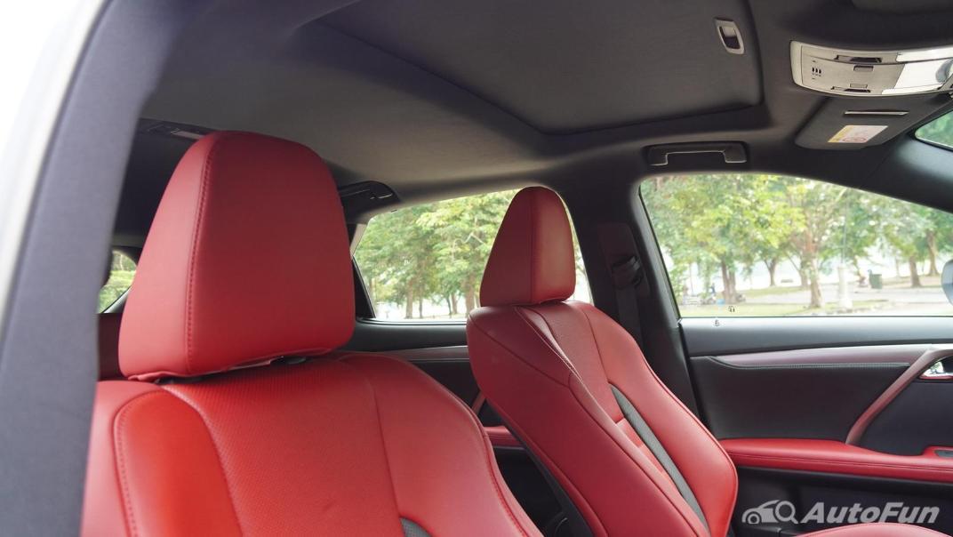 2020 Lexus RX 3.5 350 F Sport Interior 040