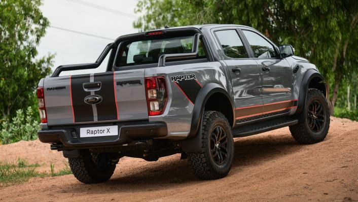 2021 Ford Ranger Raptor X Exterior 002