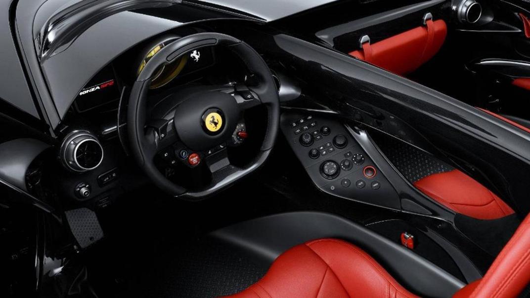 2020 Ferrari Monza SP2 6.5 V12 Interior 001