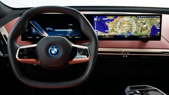 2021 BMW iX xDrive50 Sport Interior 001