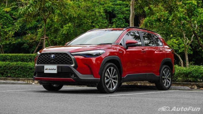 2020 Toyota Corolla Cross 1.8 Hybrid Premium Safety Exterior 001