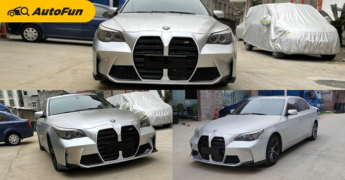 BMW 5-series แปลงหน้าใหม่ ใส่จมูกยักษ์ หลายคนว่าไม่สวย คุณเห็นด้วยมั้ย? 01