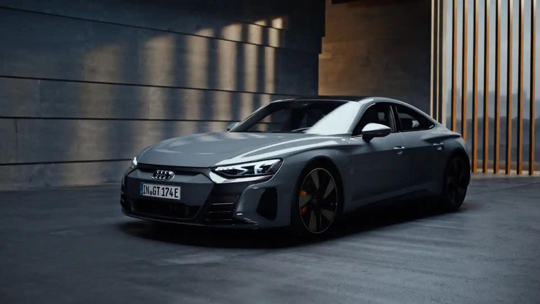 2021 Audi e-tron GT quattro Exterior 006