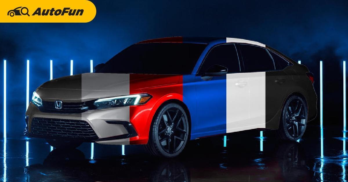 2021 Honda Civic Modelchange เตรียมเปิดตัว 28 เมษายน ที่ญี่ปุ่น เผยสีตัวถังที่ไม่เคยเห็นมาก่อน 01