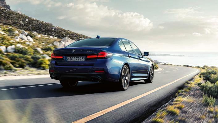 2021 BMW 5 Series Sedan 530e Elite Exterior 007