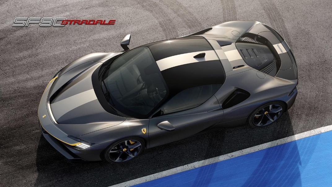 2020 Ferrari SF90 Stradale 4.0 V8 Exterior 005