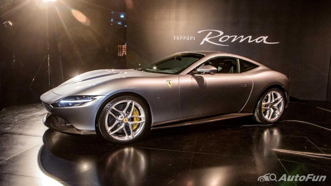 2020 3.9 Ferrari Roma Turbo Exterior 005