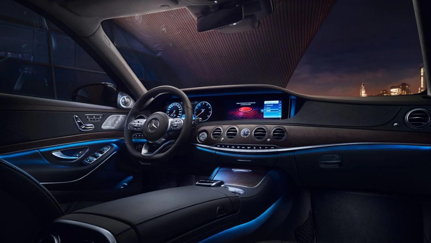 Mercedes-Benz S-Class 2020 Interior 007