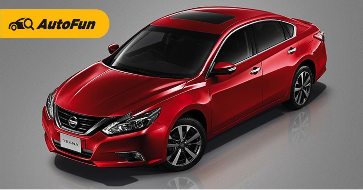 Review: Nissan Teana ซีดานดีไซน์หรู 01