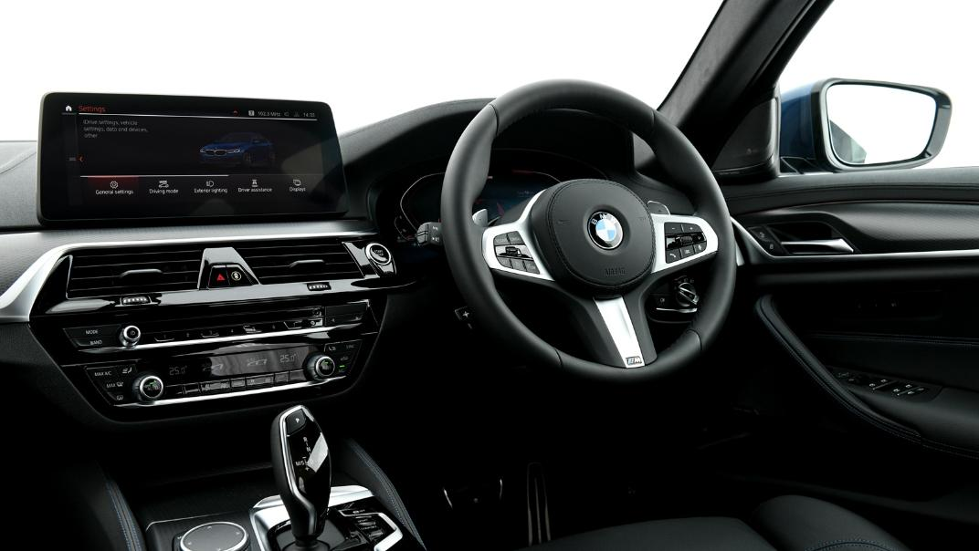 2021 BMW 5 Series Sedan 520d M Sport Interior 027