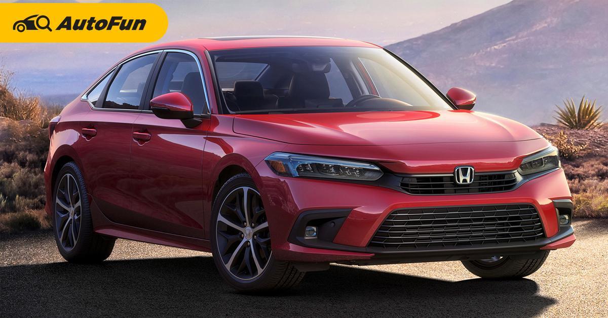 ภาพแรก 2022 Honda Civic มาแบบนี้จะสู้ Toyota Corolla Altis ไหวไหม? 01