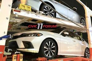ชมสปายช็อตชุดใหญ่ 2022 Honda Civic สวยเข้าตา ไฟท้ายไม่เลวร้ายอย่างที่คิด
