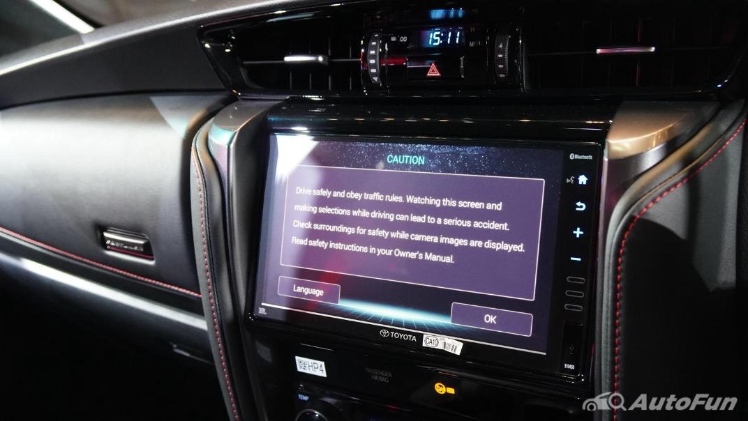 2021 Toyota Fortuner 2.8 GR Sport 4WD Interior 017