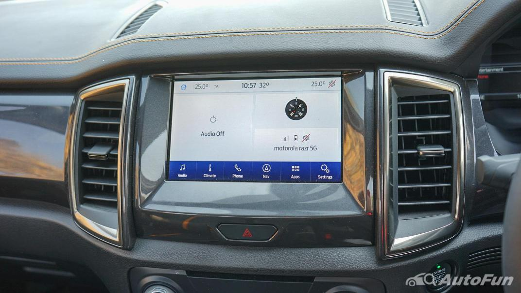 2020 Ford Ranger Double Cab 2.0L Turbo Wildtrak Hi-Rider 10AT Interior 020