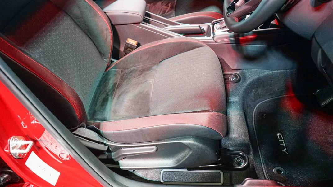 2021 Honda City Hatchback 1.0 Turbo RS Interior 022