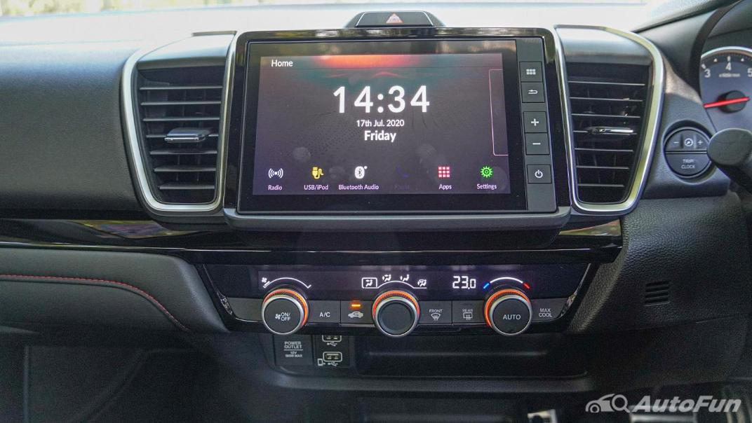 2020 Honda City 1.0 RS Interior 012