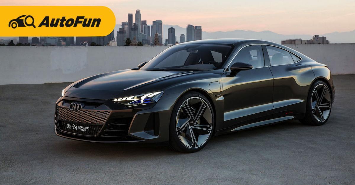 อาวดี้เตรียมเปิดตัว 2021 Audi e-tron GT พร้อมสู้ Porsche Taycan ได้หรือไม่? 01